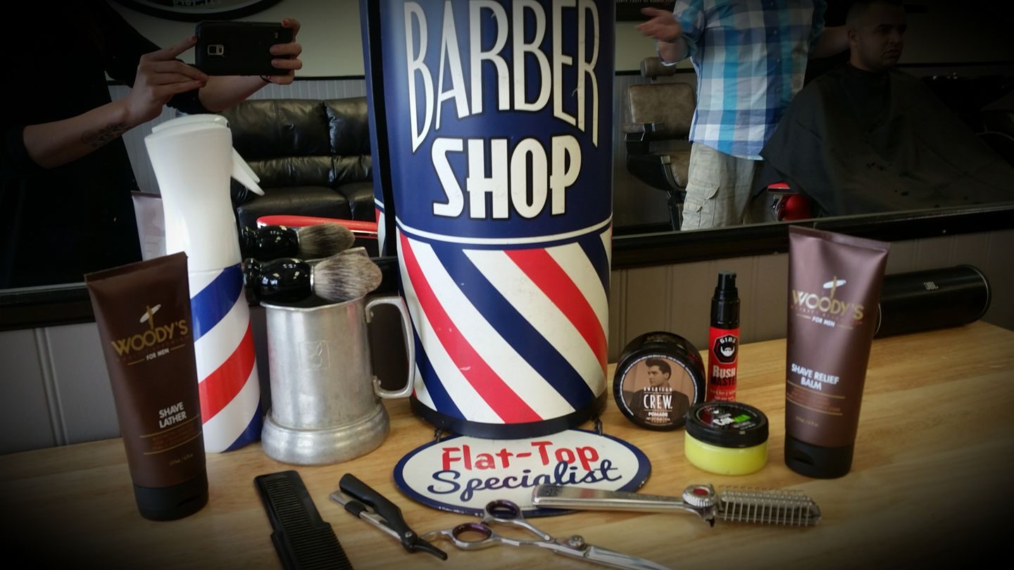 Barbershop Products Slide